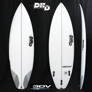"""【DHD SURFBOARDS】DHD サーフボード3DV 5'8"""" 26.5CL 2018New Model!FCS2 5FIN 送料無料"""