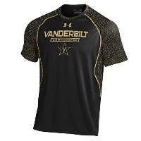 "Vanderbilt Commodores Under Armour NCAA "" Apex ""メンズパフォーマンスS / Sシャツ 3L"