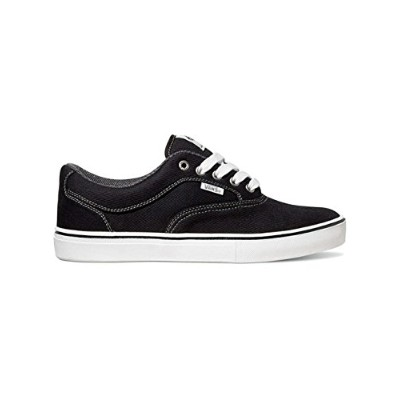 Vans Mens Mirada Twill Sneakers Blackwhite 6.5 by Vans