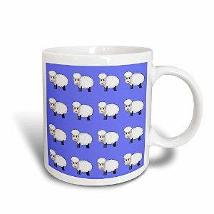3dローズ777imagesパターンfor Kids–Cute Cartoon SheepまたはLambs On A Blue Background。Go Aheadしてカウント。–...