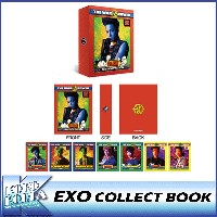 EXO/POSTCARD COLLECT BOOK/ポストカードコレクトブック/THE WAR/THE POWER OF MUSIC/公式グッズ/エクソ/SM/Official Goods