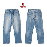 WAREHOUSE 2nd hand Series ☆Lot 1606 USED WASH(淡)USEDウォッシュ加工60年代片耳ジップフライスリムジーンズ★WHPA-18SS012...