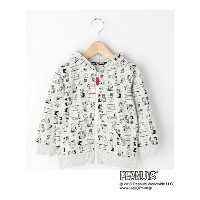 【SALE/50%OFF】3can4on(Kids) SNOOPY コラボ総柄パーカー サンカンシオン カットソー【RBA_S】【RBA_E】