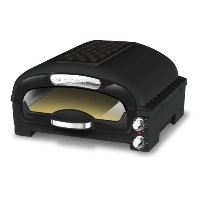 CPIZ-2800 Pizza Oven with Pizza Stone and Cutter ピザオーブン CuiZen社 Black【並行輸入】