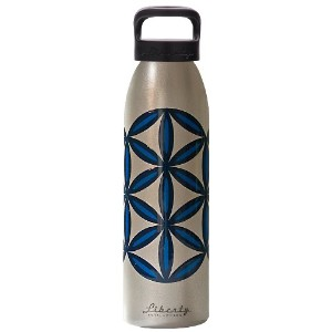 Liberty Bottleworks Deco Water Bottle 水筒 シルバー パターン 700ml