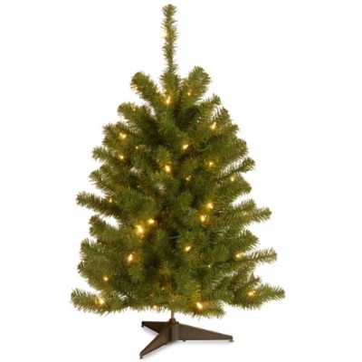 Nationalツリーes-30lo Eastern Spruce Tree with 50クリアライト、3-feet by Nationalツリー会社