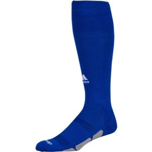 アディダス ユニセックス 野球【Team Utility OTC Socks】Bold Blue/White/Light Onix