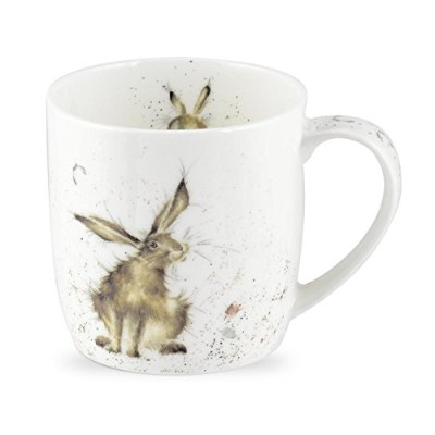 Wrendale by Royal Worcester Good Hare Day Hare Single Mug by Wrendale by Royal Worcester