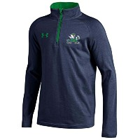 Notre Dame Fighting Irish Under Armour Youth Lightweight Loose 1 / 4 Zipプルオーバー S