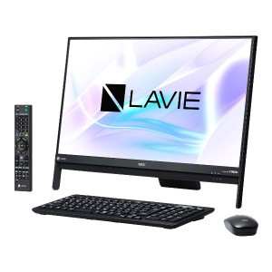 ※新品 NEC LAVIE Desk All-in-one DA370/HAB PC-DA370HAB [ファインブラック].