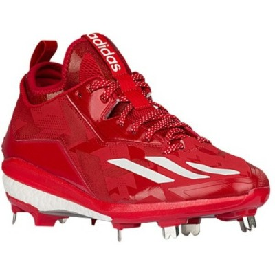 アディダス メンズ 野球 シューズ・靴【Energy Boost Icon 2】Power Red/Silver Metallic/White