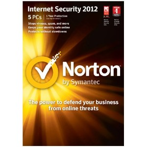 Norton Internet Security 2012 5PC 【並行輸入品】