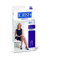 Ultrasheer 30-40mmHg Open Toe Knee-High Extra Firm Compression Stockings-Natural, Small,Pair by...