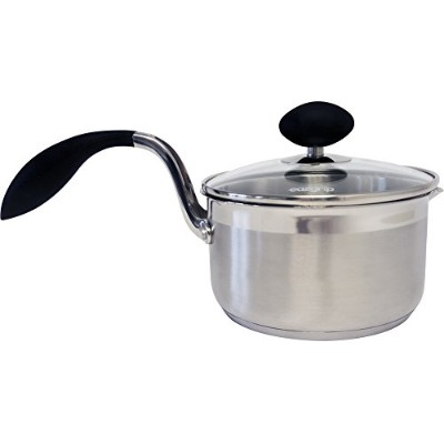(1.5-Qt. Sauce Pan) - Eazigrip 2355 1.4l. Stainless Steel Non Stick Covered Saucepan with Lid