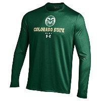 メンズunder armour Colorado State Rams Tech Long Sleeve Tee L