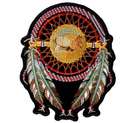 Hot Leathers Dream Catcher Patch (2 Width x 3 Height) by Hot Leathers