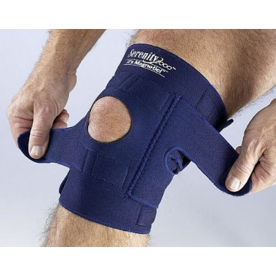 Magnetic Knee Wrap - Large by Serenity2000