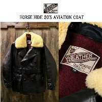 Y'2LEATHER(ワイツーレザー)HORSE HIDE 20'S AVIATION COAT アビエーションコート[レザージャケット]★MADE IN JAPAN