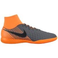 (取寄)ナイキ メンズ マジスタ 2 アカデミー DF ic Nike Men's Magista ObraX 2 Academy DF IC Dark Grey Black Total Orange