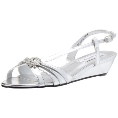 Benjamin Walk 544MO_08.0 Geri Shoes in Silver Metallic - Size 8
