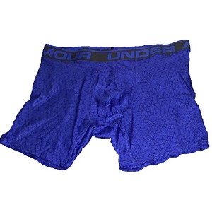 """Under ArmourメンズUA元6""""シリーズPrinted Boxerjock Small Royalジェット"""