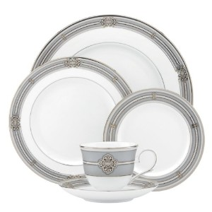 Lenox Ashcroft 5-piece Place Setting、ホワイト