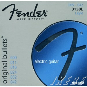 Fender USA original bullets Electric Guitar Strings 3150L (09-42) [エレキギター弦] (#0733150403)