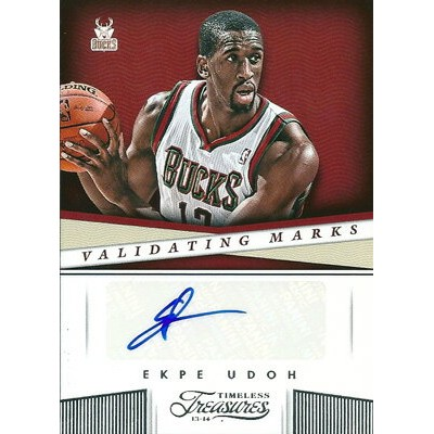 エクペ・ウドー NBAカード Ekpe Udou 13/14 Panini Timeless Treasures Validating Marks