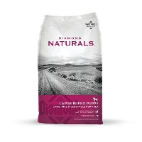 Diamond Naturals Large Breed Puppy Lamb and Rice Formula Dry Pet Dog Food 6lbs