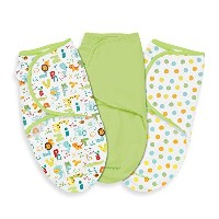Summer Infant SwaddleMe Adjustable Infant Wrap, Small, ABC Animals by Summer Infant
