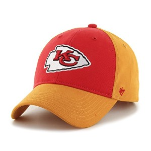 NFL Kids Kansas City Chiefs 2トーン刺繍コットンツイルCap by ' 47