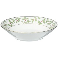 Noritake Holly and Berryゴールドスープボウル