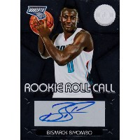 ビスマック・ビヨンボ 2012-13 Panini Totally Certified Rookie Roll Call Auto Bismack Biyombo