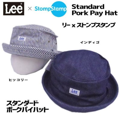 ■Lee x StompStamp【Leeキッズ】 可愛すぎスタンダードポークパイキッズハット*9185810ブランド子供服/子供サイズ帽子【Leeキッズ】