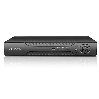 A-ZONE 400万画素タイプ POE給電4ch HDレコーダー 防犯カメラ最大4台搭載 Ipad/ iPhone /Android スマートフォン対応 録画機 内蔵HDDなし 電源アダプター付属