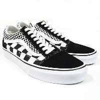 VANS バンズ OLD SKOOL(Mix Checker) Lifestyle Black/TRUE WHITE VN0A38G1Q9B