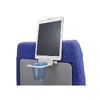 The airhook Air Travel Cup and Electronicsデバイスホルダー