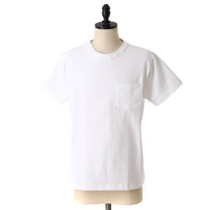 CAMBER[キャンバー] CAMBER MAX WEIGHT POCKET SS TEE(メンズ T-シャツ ポケット) M ホワイト