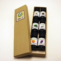 Top 6 100% Pure Therapeutic Grade Essential Oil Gift Set - 6/10ml (Lavender, Tea Tree, Eucalyptus,...