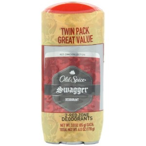 Old Spice Red Zone Collection Swagger Scent Men's Deodorant Twin Pack 6 Oz by Old Spice [並行輸入品]