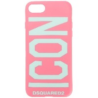 Dsquared2 ICON iPhone 6/7 カバー - ピンク&パープル