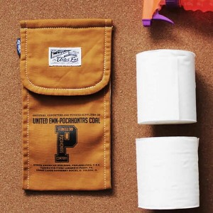 TOILET PAPER HOLDER COVER 4CAMEL トイレットペーパー ホルダー カバー トイレ用品 雑貨 アメカジ CULTURE MART 700024-4