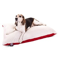 30x40 Red Rectangle Pet Dog Bed With Removable Washable Cover By Majestic Pet Products Small to...