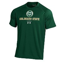メンズunder armour Colorado State Rams Tech Tee 3L