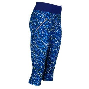 Under Armour Stunner printed woven capri – Women 's S パープル