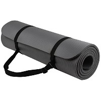 BalanceFrom GoYoga all-purpose 1/ 2インチExtra Thick高密度anti-tear Exerciseヨガマットwith Carrying Strap