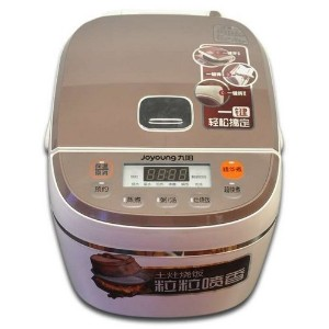 JoyoungスマートRice Cooker jyf-40fs19with新しい3次元の暖房–4l–16カップ容量3–6人–Chineseモデルby Joyoung