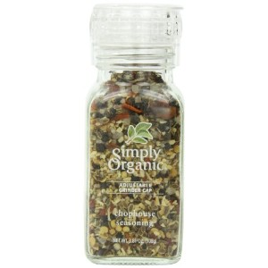 Simply Organic, Adjustable Grinder Cap, Chophouse Seasoning, 3.81 oz (108 g)