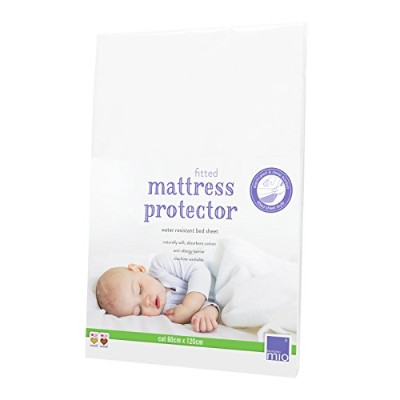 Bambino Mio 60 x 120 cm Fitted Mattress Protector/Bed Sheet Cot