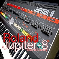 ROLAND Jupiter 8 - THE very Best of - Original Sound Library (Samples) on DVD or FREE Download